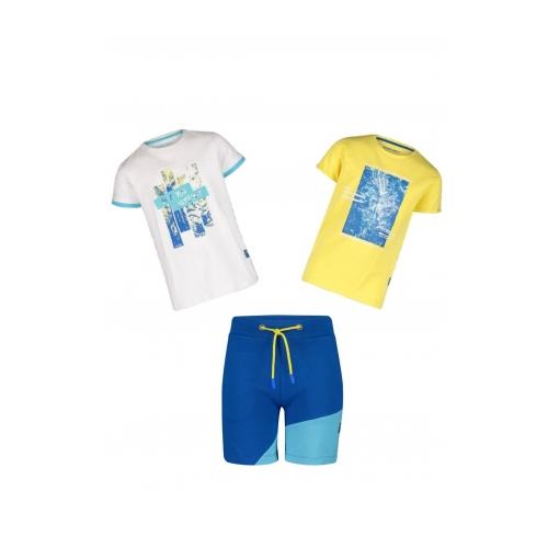 4-President SET: short Keith & T-shirts Kadin en Karl