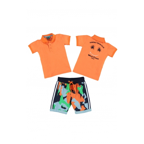 B'Chill SET short Zack & T-shirt  Xavi
