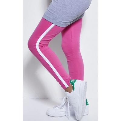Bobbi Ravioli roze legging