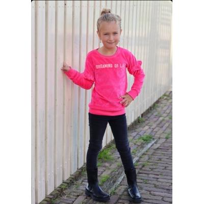 Dutch Dream Denim joggdenim Bega - donkergrijs