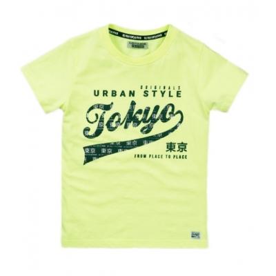 DJ Dutchjeans t-shirt neon yellow