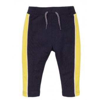 Dirkje joggingbroekje navy neon yellow