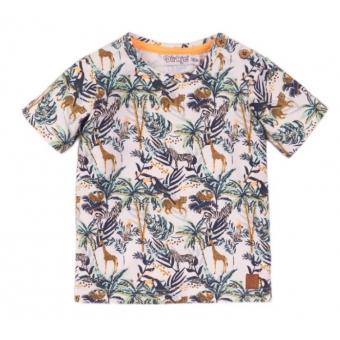 Dirkje t-shirt Jungle