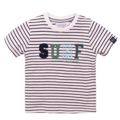 Dirkje t-shirt navy stripe Surf
