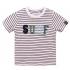 Dirkje t-shirt navy stripe Surf