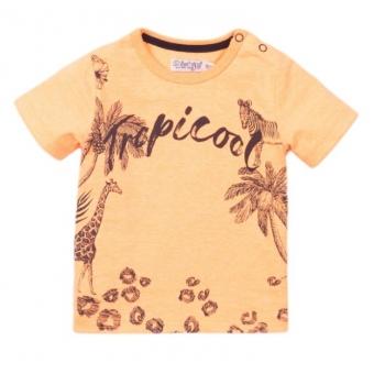 Dirkje tshirt orange tropical