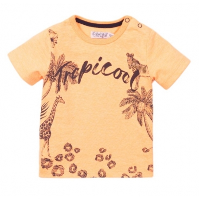 Dirkje tshirt orange tropical