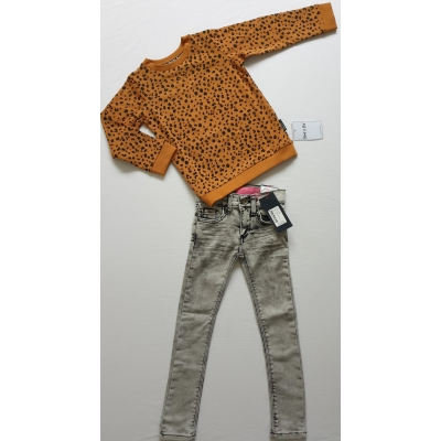 Shout It Out Sweater Spot Brown