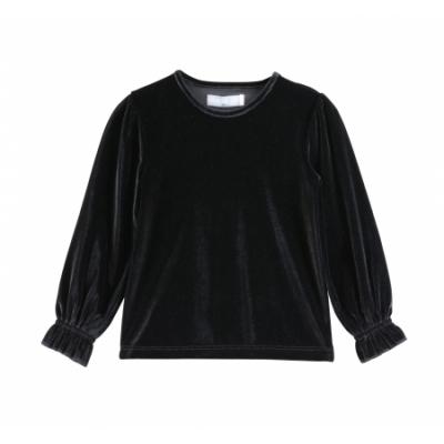 VinRose Longsleeve Black velvet