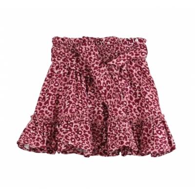 VinRose Rok Leopard Pattern Pink