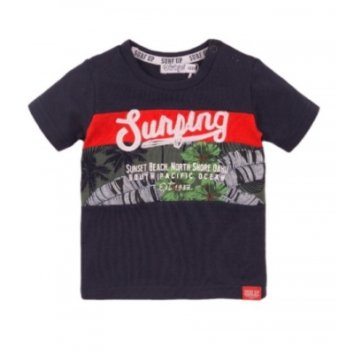 Dirkje t-shirt navy surfing