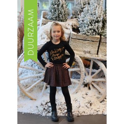 Lovestation22 woven skirt Bente Brown